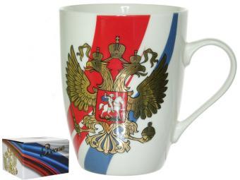 Кружка 360мл Герб России
