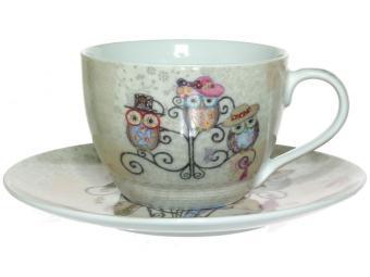Чайная пара 250мл Owl Hatstand