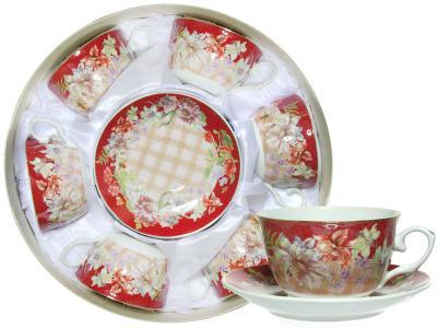 Чайный набор 12пр в круглой коробке (64885)