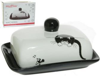 Масленка Черный кот MILLIMI