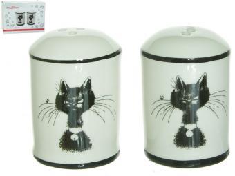 Набор для соли и перца Черный кот MILLIMI