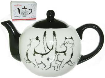 Чайник заварочный 580мл Черный кот MILLIMI