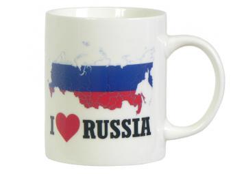 Кружка 320мл ''I Love Russia''