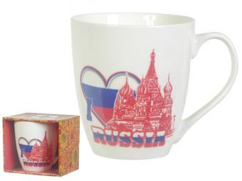 Кружка 550мл ''I Love Russia''