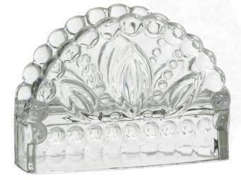 Салфетница стеклянная 100025