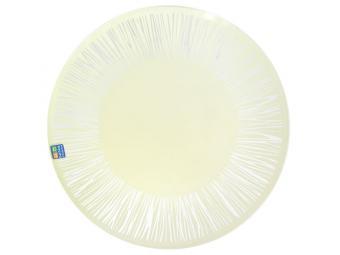 Тарелка ''Витас'' прозрачная шампань 26см