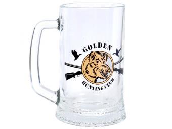 Кружка 500 мл для пива Ладья Охота