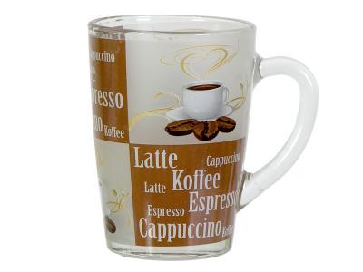 Кружка ''Капучино'' Кофе №3 Опытный стекольный завод