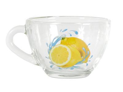 Кружка ''Прага'' Лимон К 200мл Опытный стекольный завод