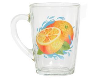 Кружка ''Капучино'' Апельсин К 300мл