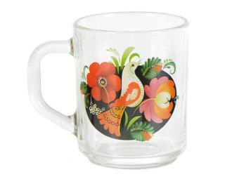 Кружка ''Gren tea'' Русские узоры 2 200мл