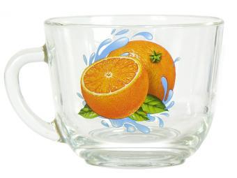 Кружка ''Гламур'' Апельсин К 200мл
