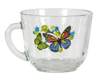 Кружка ''Гламур'' Танец бабочек 200мл