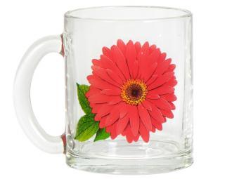 Кружка ''Чайная'' Коллекция цветов 320мл