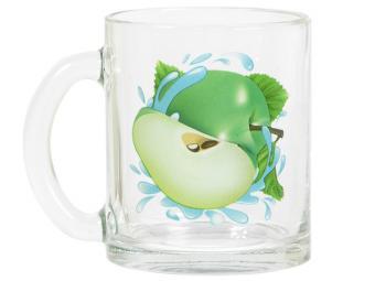Кружка ''Чайная'' Яблоко зеленое К 320мл