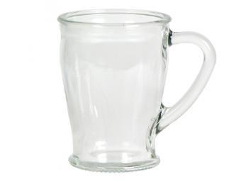 Кружка для чая стеклянная 200мл