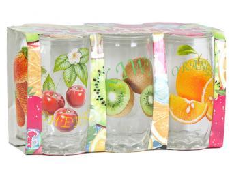 Набор стаканов Фрукты-2 200мл