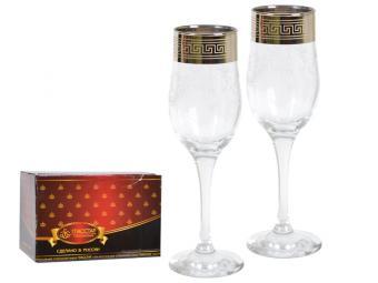 Набор бокалов 6пр Барокко 200мл для шампанского