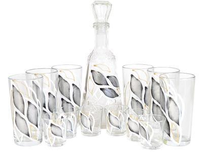 Набор ''Классик'' 13пр графин, 6 стаканов и 6 стопок