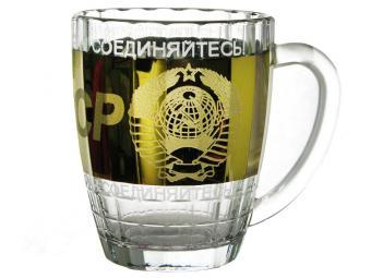Бокал 500мл Ностальгия СССР