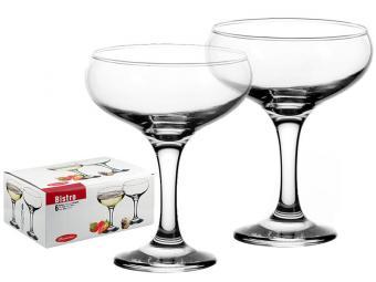 Набор фужеров для шампанского Bistro 6шт 275мл