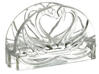 Салфетница стеклянная