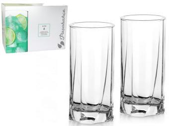 Набор стаканов 6 шт высокие 375мл 42358 ''Luna''