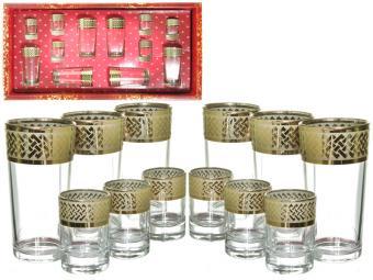 Набор стаканов 12 предметов Скандинавия