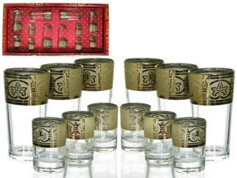 Набор стаканов 12 предметов Флоренция 120527