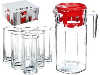 Набор Kosem графин 1,5л и 6 стаканов