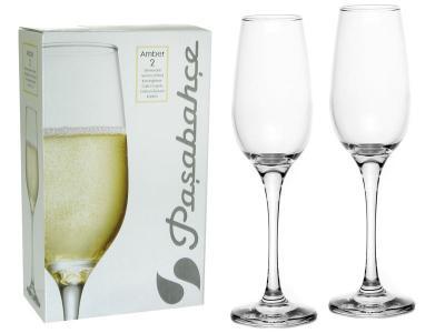Набор бокалов для вина Amber 2шт 200мл Pasabahce
