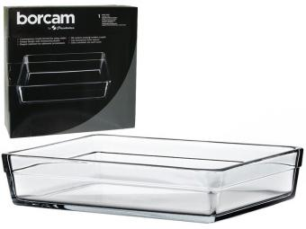 Форма жаропрочная квадр 4,1л Borcam Laser Logo
