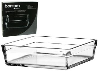 Форма жаропрочная квадр 2,4л Borcam Laser Logo