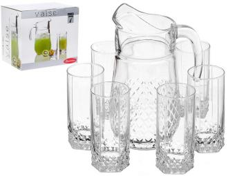 Набор Valse графин 2л и 6 стаканов