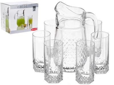 Набор Valse графин 2л и 6 стаканов Pasabahce