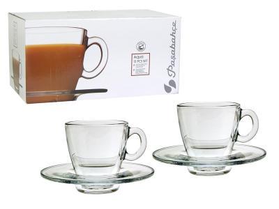 Чайный набор Aqua на 6 персон 12 пр Pasabahce