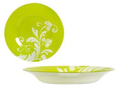 Тарелка Classy Green суповая 22см Pasabahce