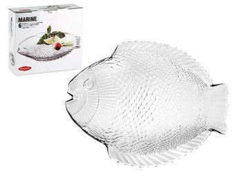 Набор тарелок Marina 6 шт 26*21см Рыба