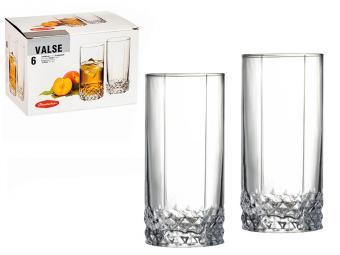 Набор стаканов ''Valse'' 309мл 6шт
