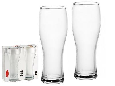 Набор бокалов для пива Pub 500мл 2шт. Pasabahce