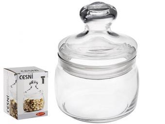 Банка ''Cesni'' 500мл со стекл.крышкой