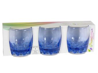 Набор стаканов Sylvana Light blue 3шт 305мл