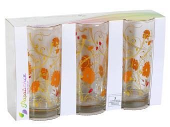 Набор стаканов ''Serenade Orange'' 290мл 3шт