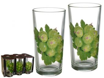 Набор стаканов 6пр 230мл деколь
