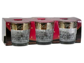 Набор стаканов 250мл 6шт Вдохновение гравировка и напыление
