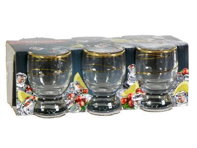 Набор стаканов Акватик 60мл 6шт Спираль