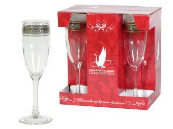 Набор Эдем Флорис 6 бокалов для мартини 170мл