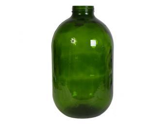 Бутыль 10л стеклянный (горло 82см) без крышки