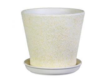 Кашпо с подставкой Белый песок 1,8л