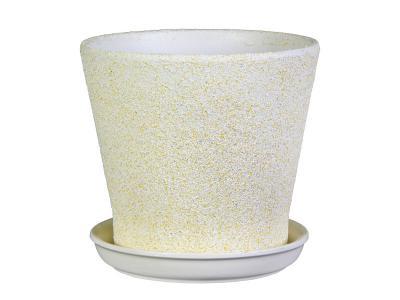 Кашпо с подставкой Белый песок 1, 8л